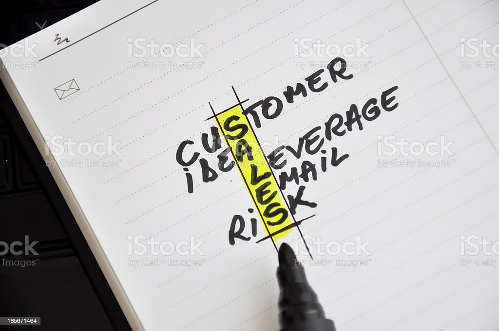 sales force royalty-free stock photo