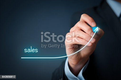 istock Sales imporvement 643956812