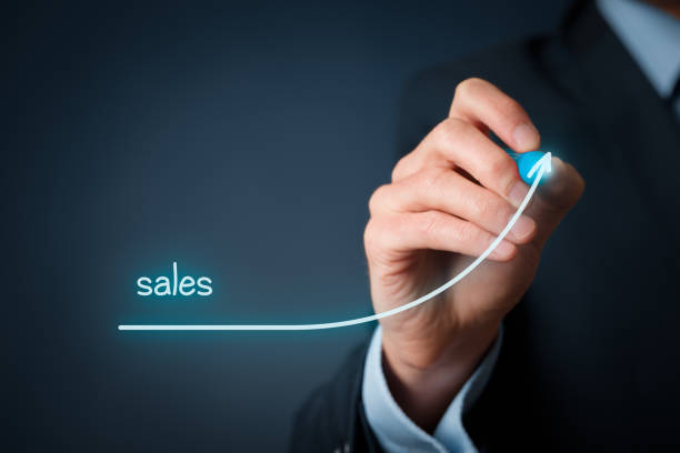 Sales imporvement stock photo