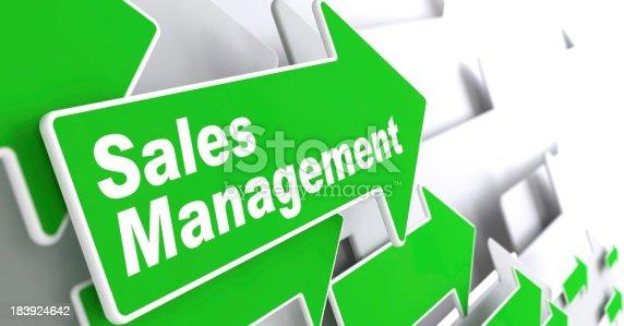 istock Sales Management. Business Concept. 183924642