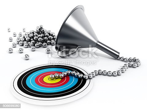 istock Sales / Marketing funnel 506699080