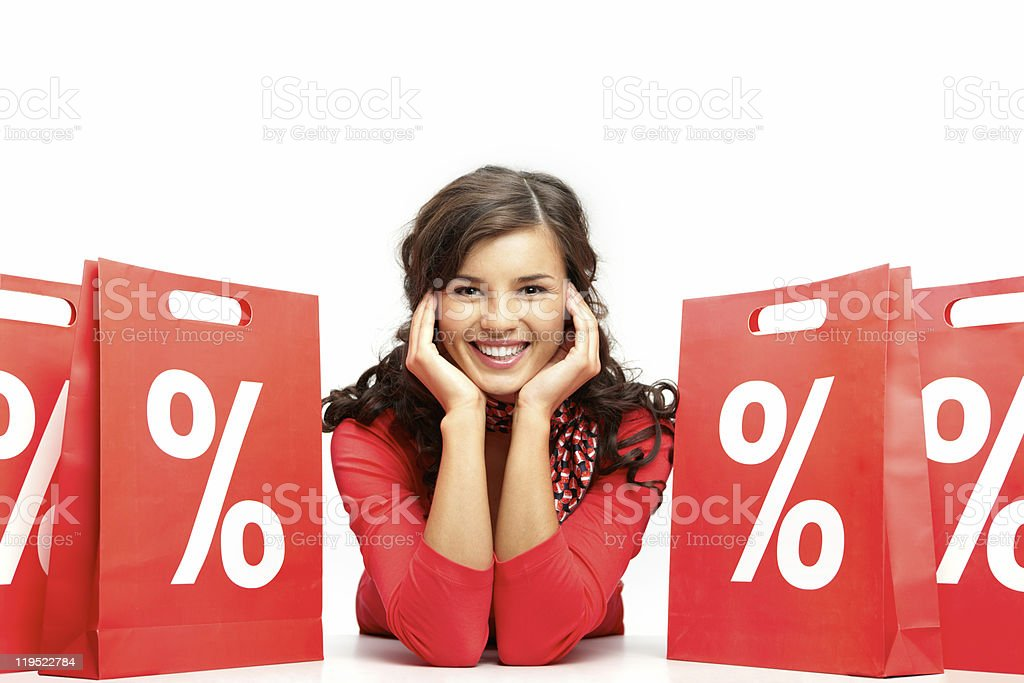 Sales period stock photo