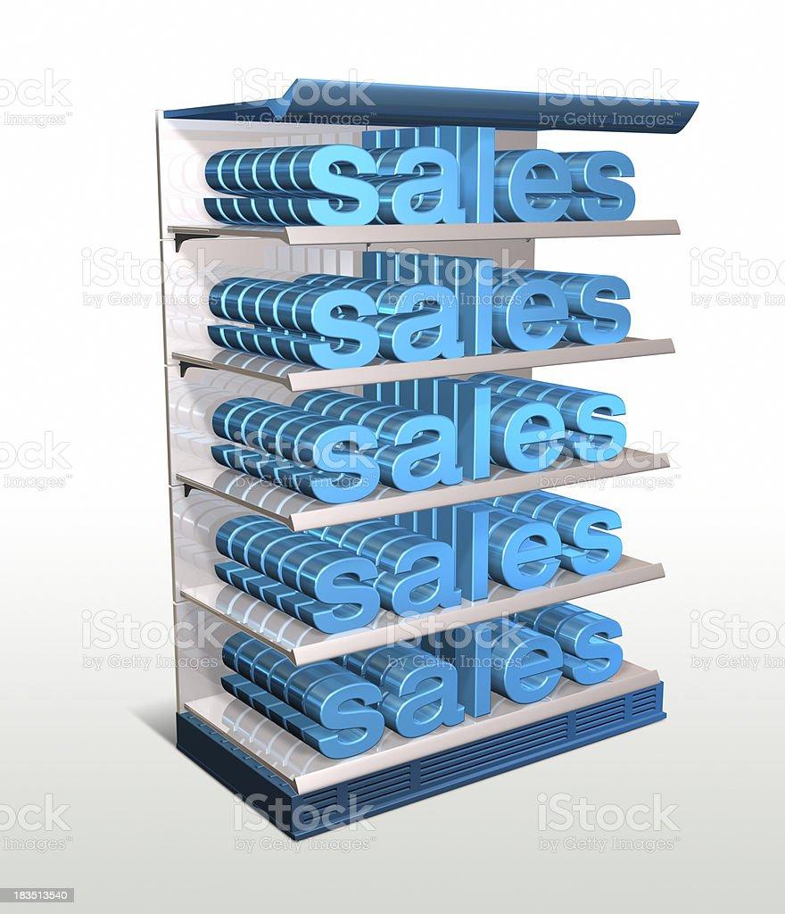 Sales royalty-free stock photo