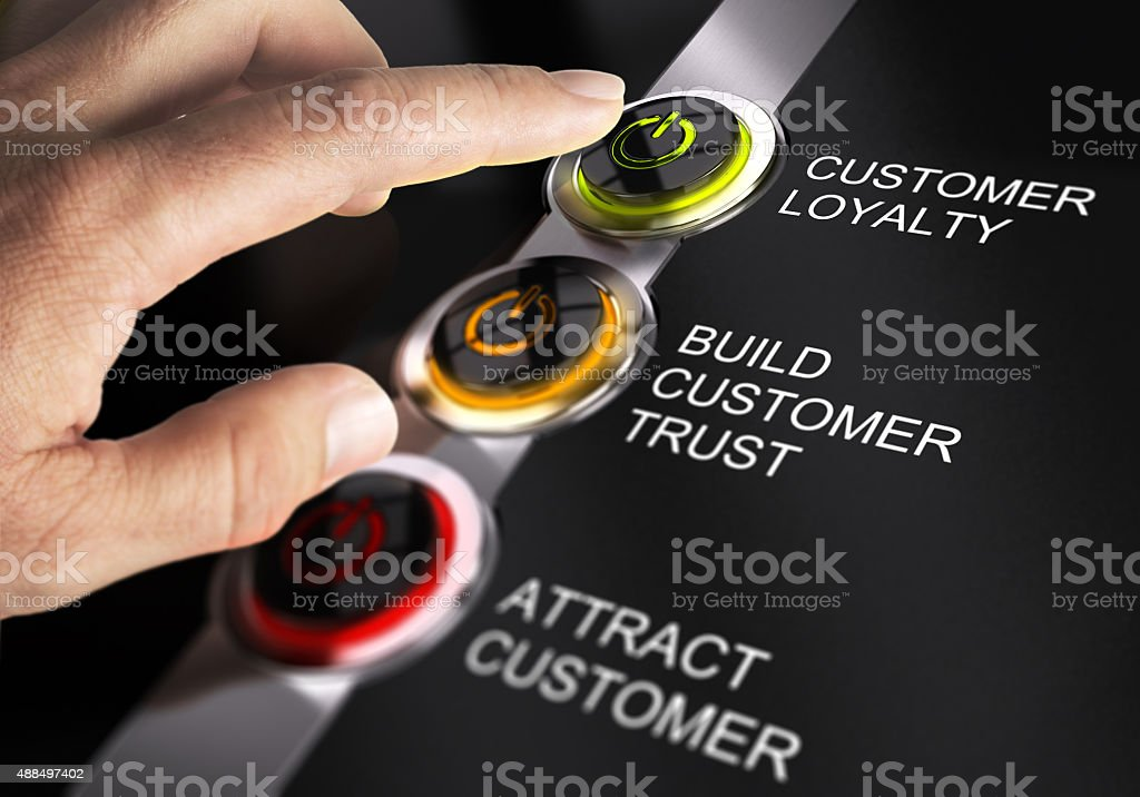 Sales Process stock photo