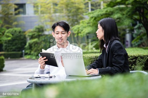 istock Sales Professionals at work. 541007024