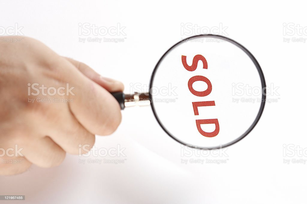 Sales series royalty-free stock photo