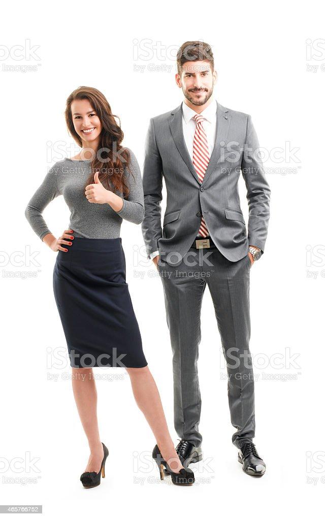 Sales team stock photo