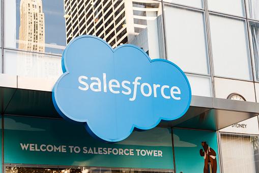Salesforceのロゴ|アインの集客マーケティングブログ
