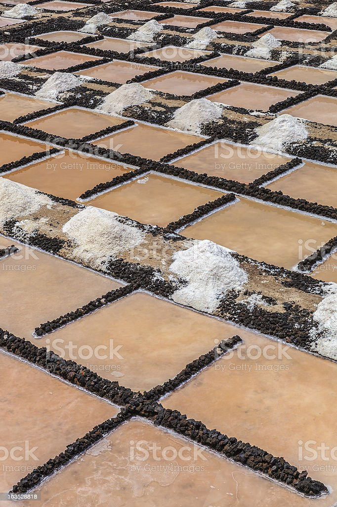 Salinas de Fuencaliente, La Palma royalty-free stock photo