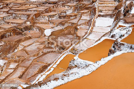 istock Salinas in Sacred Valley, Peru 928876642
