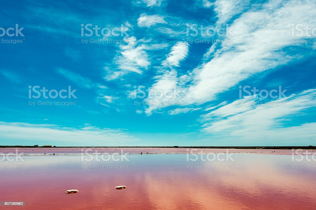 saline in France stock photo