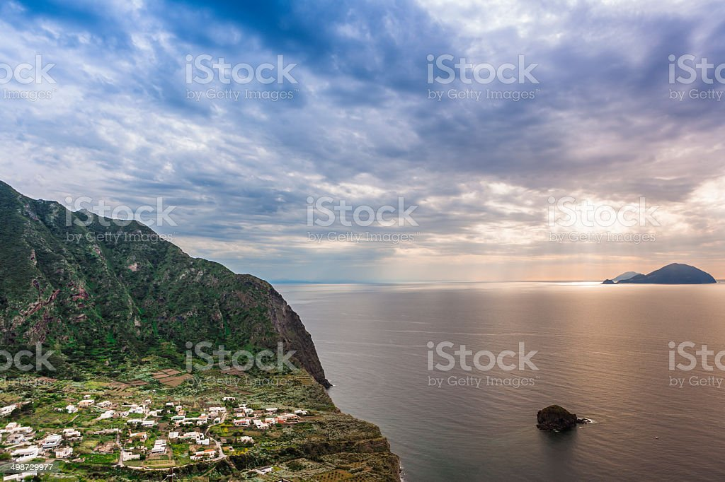 salina,sicilia stock photo