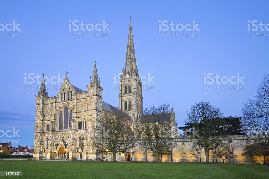 Salisbury Cathedral, England, UK stock photo