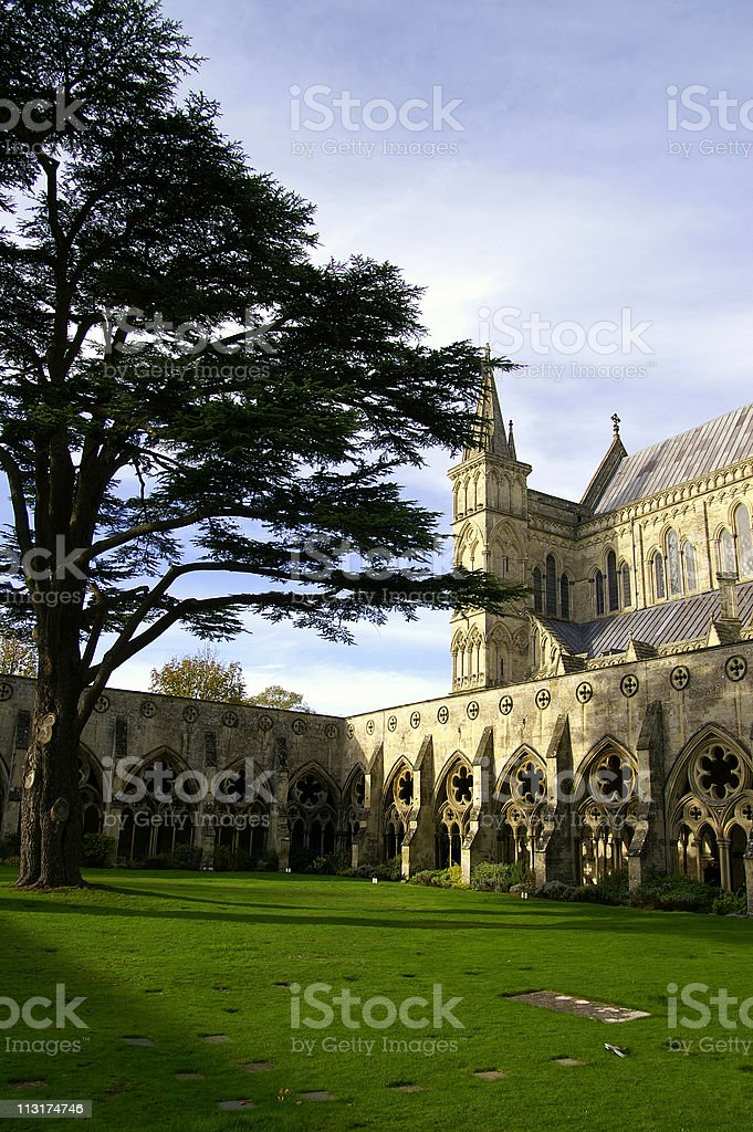 Salisbury Cathedral stock photo