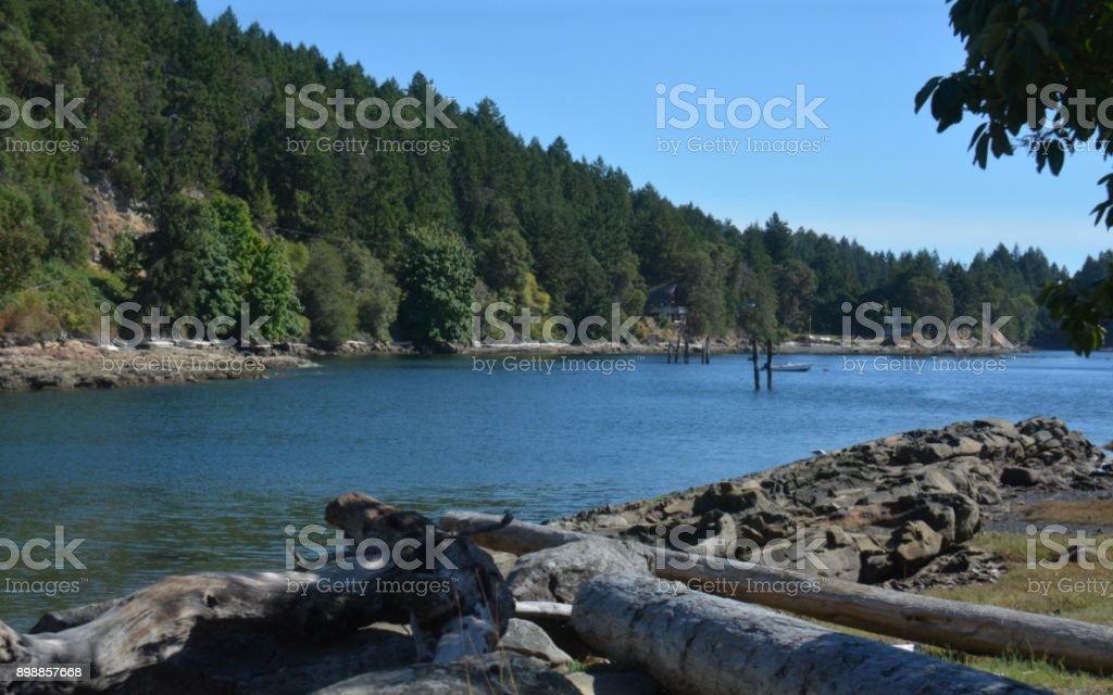 Salish Sea stock photo