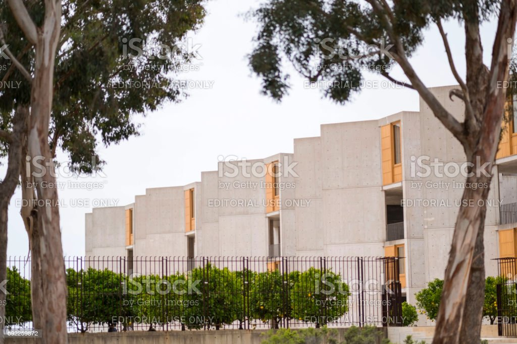 Salk Institue La Jolla California stock photo