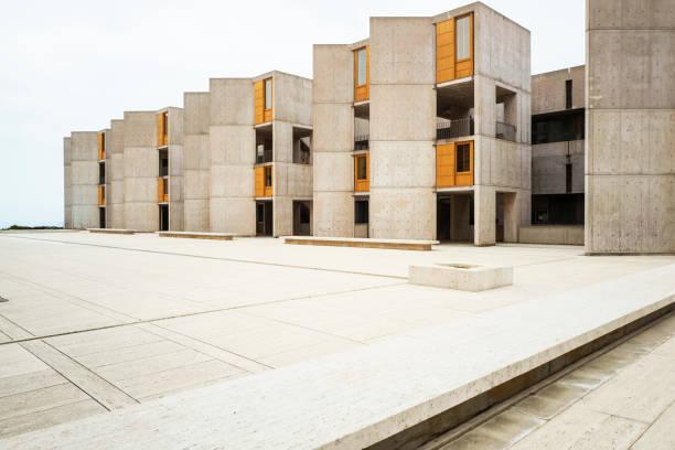 Salk Institute La Jola California stock photo