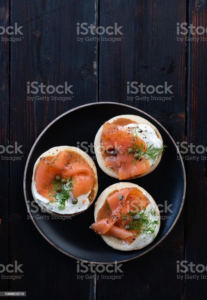 blinis saumon - Photo