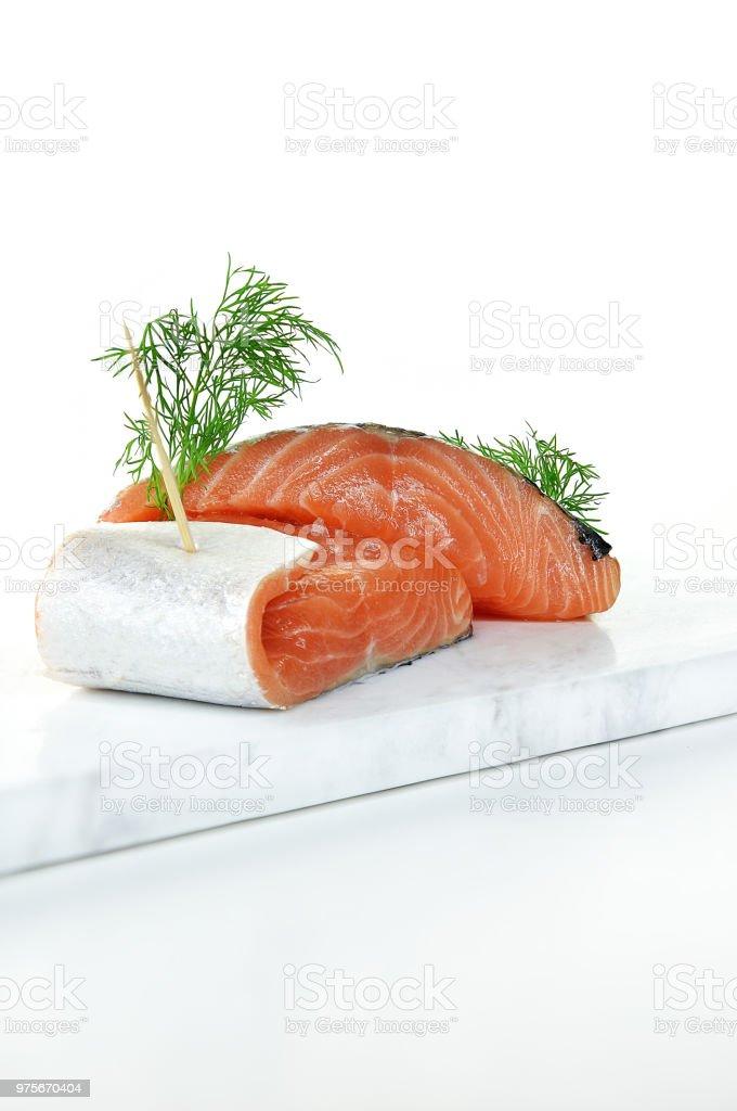 Salmon Fillets 2 stock photo