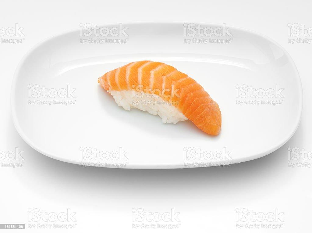 Salmon nigri royalty-free stock photo
