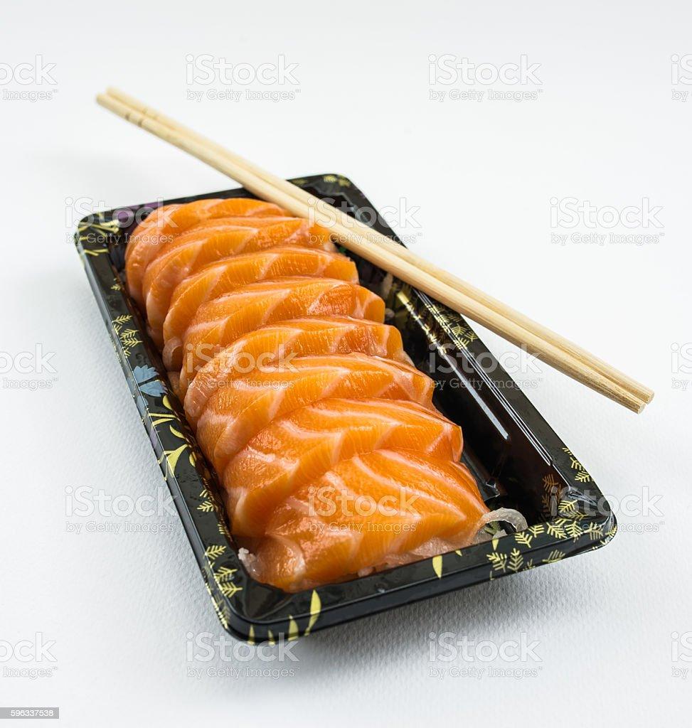 Lachs-Sashimi  Lizenzfreies stock-foto