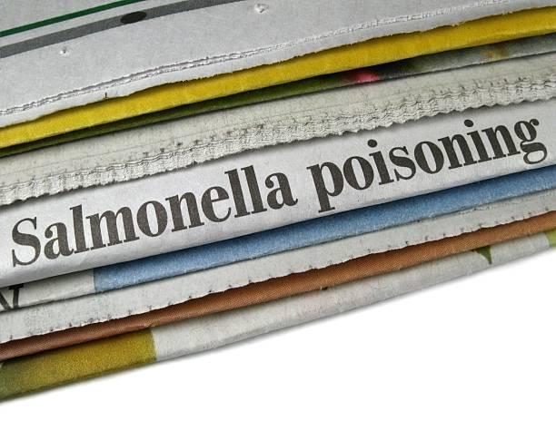 Salmonella Poisoning stock photo