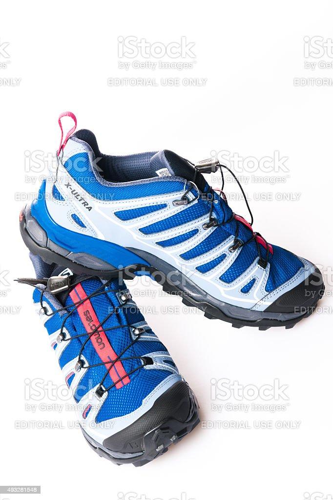 Zapatos Para Caminar Salomon X Ultra 2 Gtx Mujer Amarillo