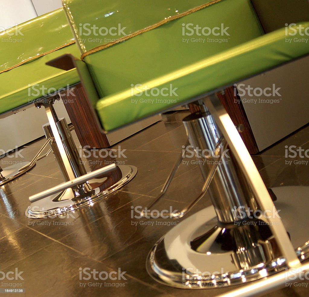 salon chairs royalty-free stock photo