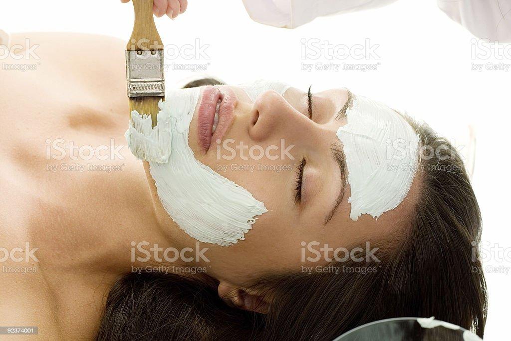 Salon Treatment royalty-free stock photo
