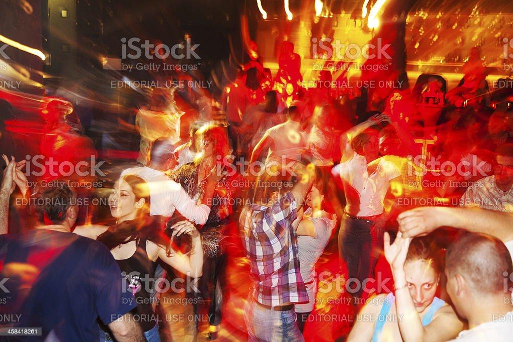 Salsa party stock photo