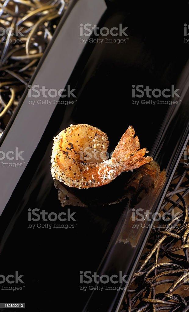 Salt & Pepper Shrimp royalty-free stock photo