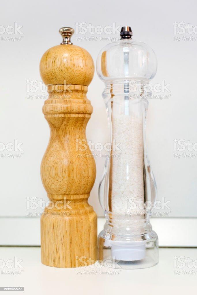 Salt and Pepper stock photo