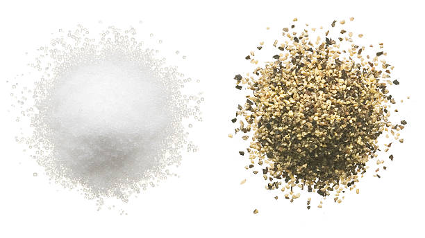 Salt and Pepper  salt stock pictures, royalty-free photos & images