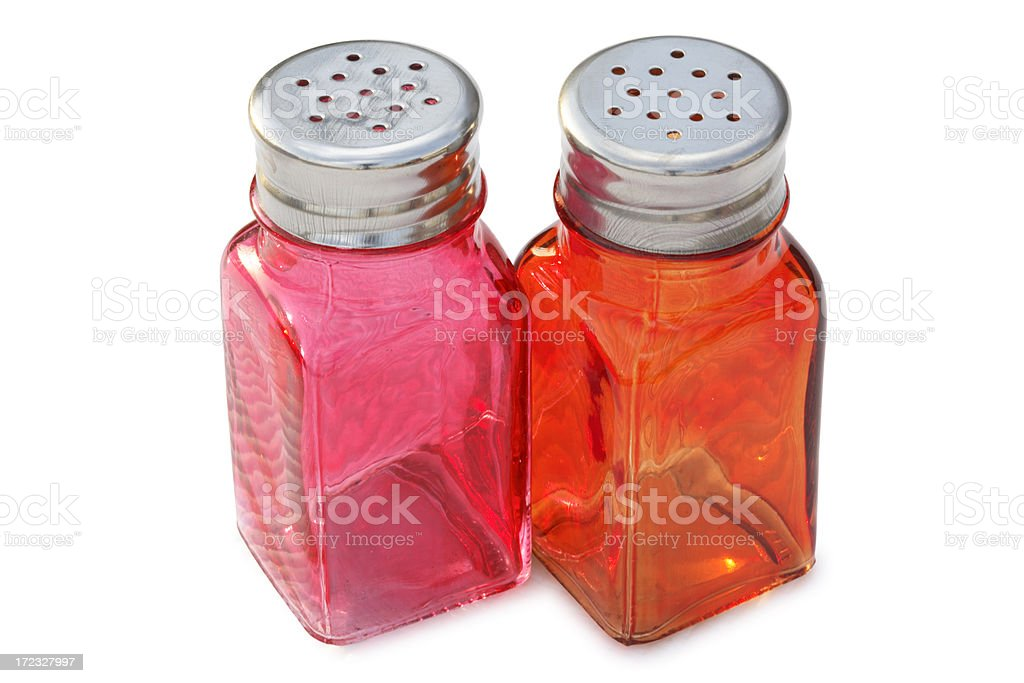 Salt and Pepper Shaker. royalty-free stock photo