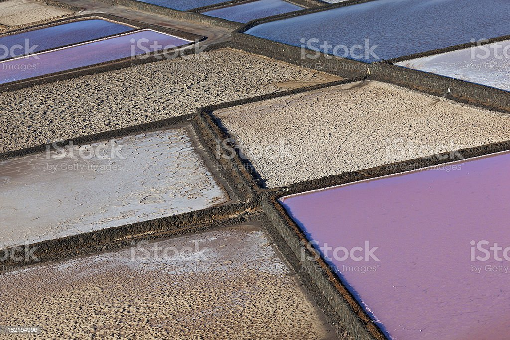 salt basin royalty-free stock photo