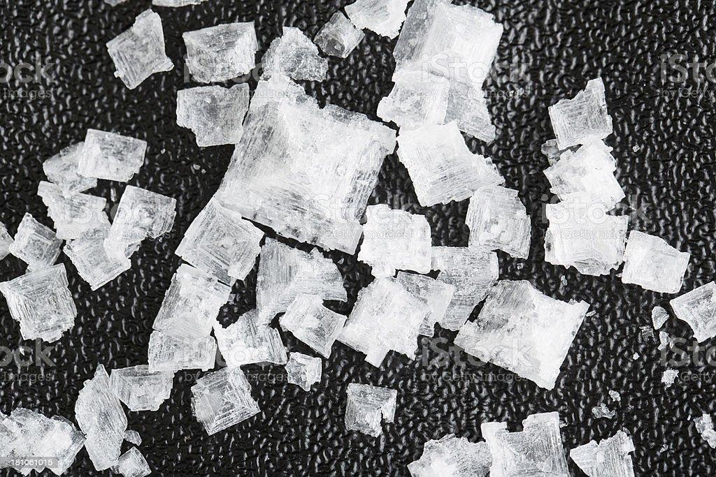 Salt Crystals royalty-free stock photo