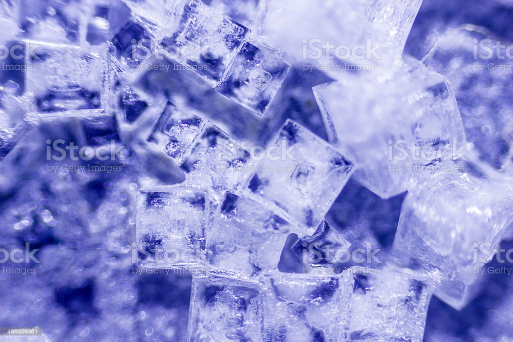 salt crystals royalty-free stock photo