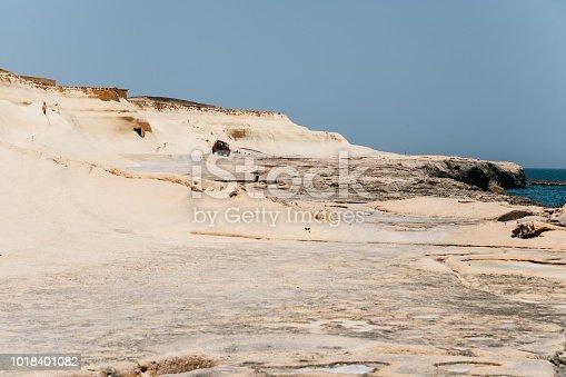 istock Salt evaporation ponds near Qbajjar on Gozo, Malta 1018401082