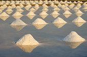 Salt works of thailand