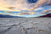 Salt Flat at Death Valley  California