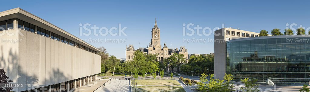 Salt Lake City County Building öffentlichen Bibliothek Washington Square, Utah – Foto