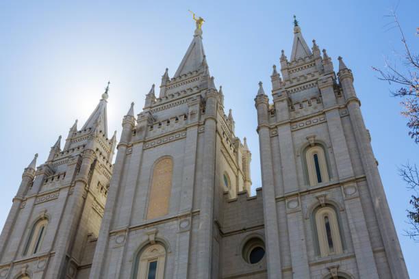 Salt Lake City LDS Tempel Türme – Foto
