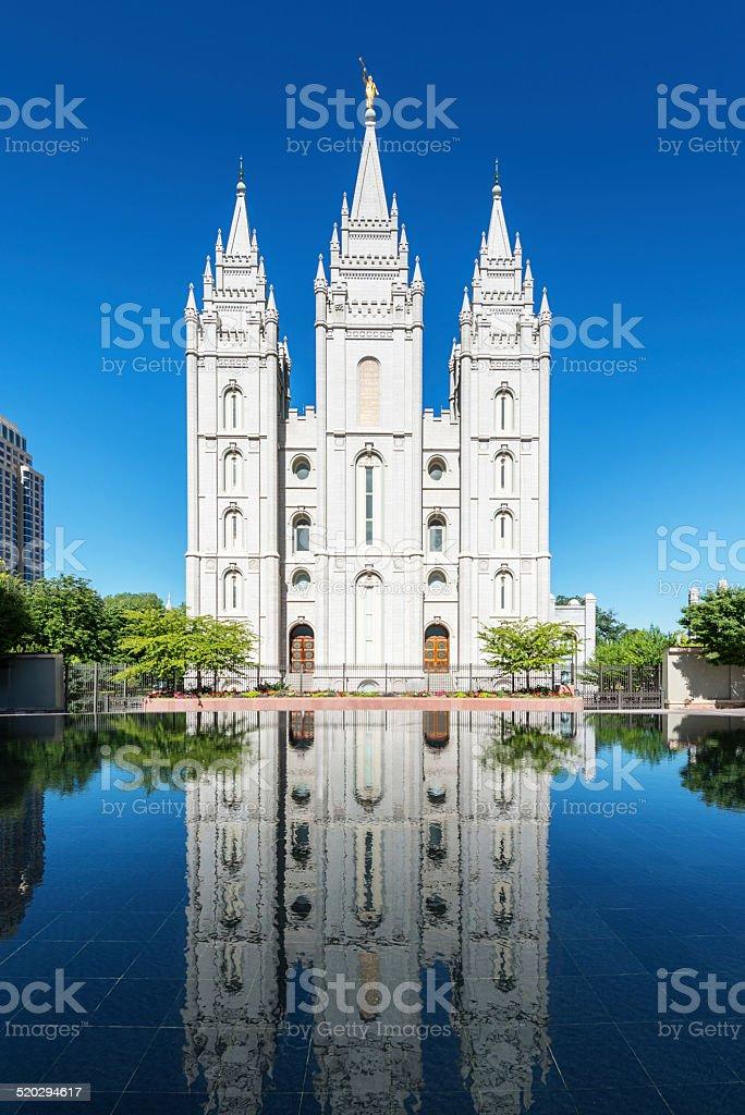 Salt Lake City Lds Temple Utah Usa Stock Photo - Download Image Now