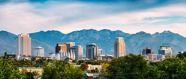Salt Lake City Panorama – Foto