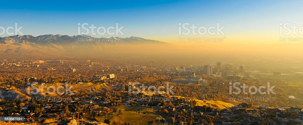 Salt Lake City stock photo
