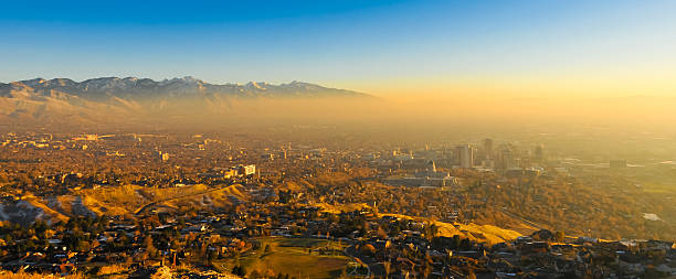 Salt Lake City stock photo