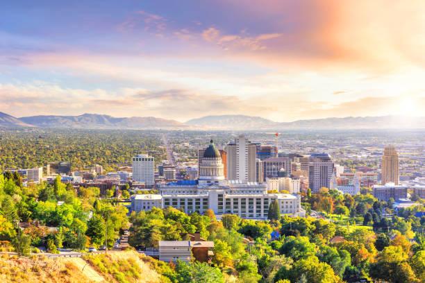 Salt Lake City - foto de acervo