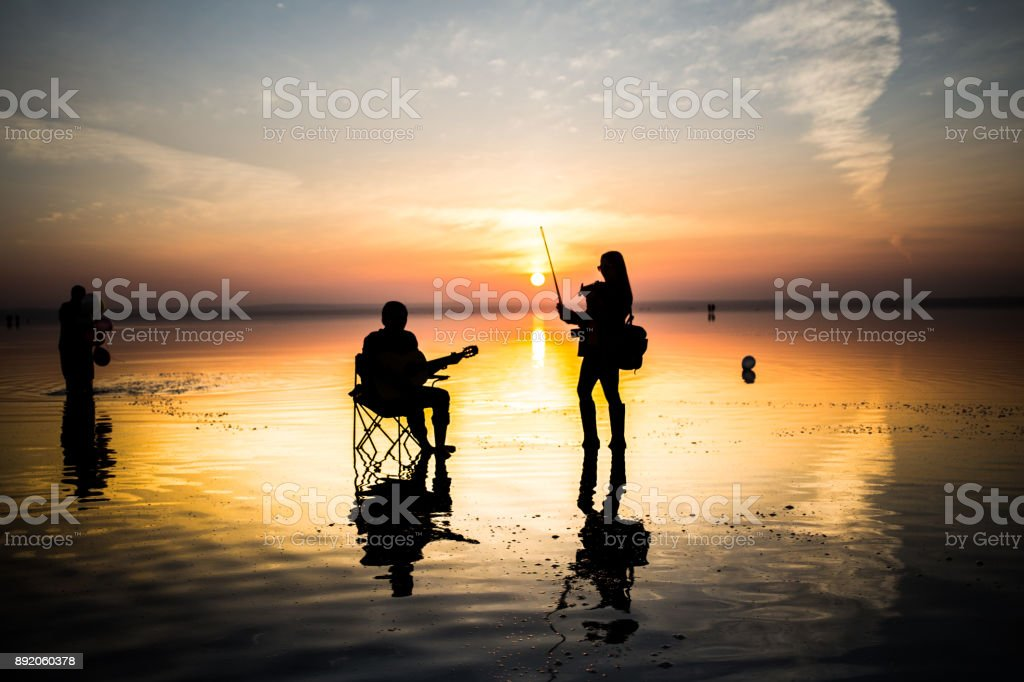salt lake, konya, turkey. stock photo