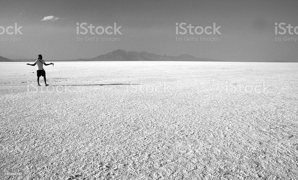 Salt Lake royalty-free stock photo