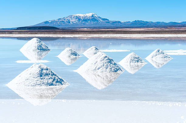 Salt lake Uyuni in Bolivien – Foto